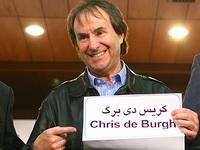 کریس دی برگ در ایران